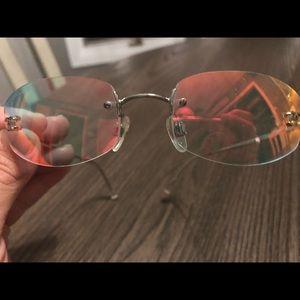 Chanel iridescent sunglasses